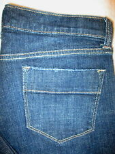 Old Navy the Sweetheart Denim Jeans Flare Stretch Womens Dark Size 8 R x 31 Mint