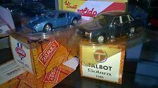 NOREV HACHETTE TALBOT SOLARA 1980 BLEU FONCE  Neuf sous coque + Boite NOREV