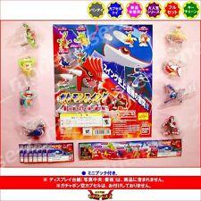 Bandai Pokemon Gashapon Figure set x8 Kyogre Groudon Magikarp marshtomp swellow