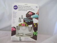 Wilton Industries Inc 12 Pc Brownie Decorating Tip Set