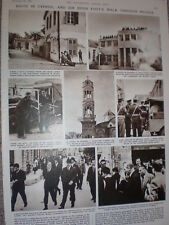 Photo article riots in Cyprus and Sir Hugh Foot in Nicosia 1957