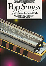 Pop Songs for Harmonica Sheet Music BOOK Learn To Play