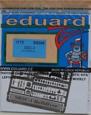 Eduard 1/72 ss266 Zoom Etch per l'Accademia CURTISS sb2c-4 Helldiver