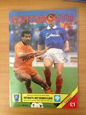 Portsmouth V West Brom 1989