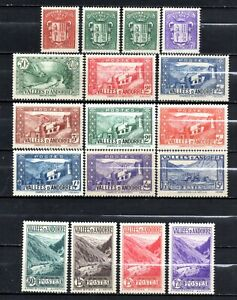 Andorra Very nice older era unmounted mint collection,stamps as per scan(10517)