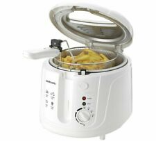 Cookworks DF5318-GS Deep Fat Fryer Observation Window And Use The Mechanic White