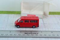 1:87 Wiking 2810120 Mercedes Dodge Sprinter Passenger Van Red Scale HO
