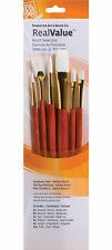 Princeton Brush Set 9156 6-Pc Lh White Taklon
