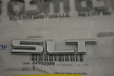 GMC Canyon Sierra 1500 Rear Tailgate Chrome SLT Emblem Nameplate new OE 22980989