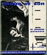 Revue Image et Son N° double 170-171 Février-Mars 1964 spécial cinéma Polonais