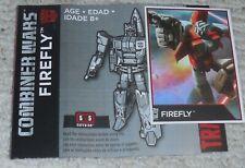 Transformers Combiner Guerre Firefly Bio Scheda e Manuale