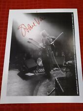 Steve Vai signed 8X10 photo guitar pick Greasy Kid's Stuff #12 Newsletter set