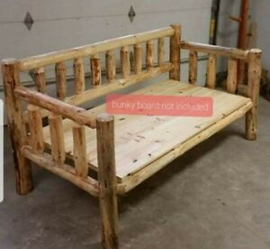 Rustic Log Daybed! Log Furniture! Rustic Decor! Cabin or Home Day Bed