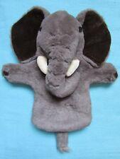 FAB ELEPHANT PLUSH SOFT TOY HAND PUPPET - PUPPET COMPANY
