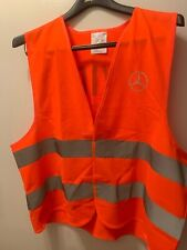 Genuine A0005830461 Mercedes-Benz Warning Vest Orange Reflective Safety Fluoresc