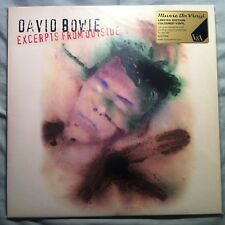 DAVID BOWIE - EXCERPTS FROM OUTSIDE V&A EXHIBITION GREEN VINYL - UNOPENED & MINT