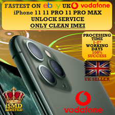 FAST UNLOCK UK GB ENGLAND VODAFONE IPHONE 11 11 PRO XS MAX XR UNLOCKING SERVICE