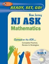 NJ ASK Grade 6 Mathematics w/ CD-ROM (New Jersey ASK Test Preparation)