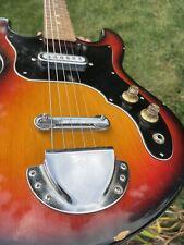 Sweet 1966 TEISCO EG-302-1 Tulip Sunburst Electric Guitar JAPAN #747