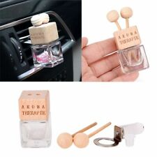 Outlet Clamp Hanging Essential Oil Car Perfume Bottle Glass Can Air Freshener