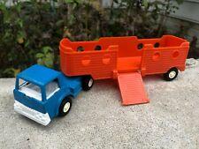 Tootsie toy Vintage 1970 Cattle Carrier toy truck 9 inch X 2inch X 2 inch