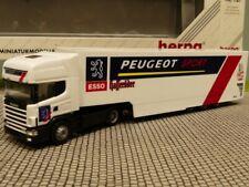 1/87 Herpa Scania 144 Peugeot Sport Koffer SZ 037273