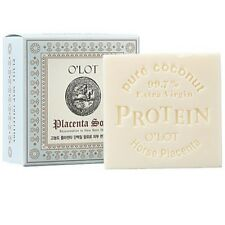O'LOT Placenta Soap 80g Contains Extra Virgin Coconut and Horse Placenta Protein