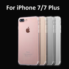Fr iPhone 7 Plus Transparent Ultra Thin Clear Crystal Rubber TPU Soft Case Cover