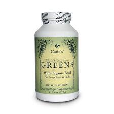 Catie's Whole Food Organic Greens ~ 11.5oz Powder