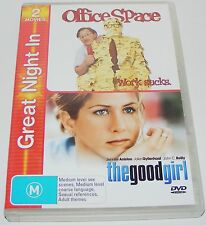 OFFICE SPACE / THE GOOD GIRL---( Dvd 2 Disc Set)
