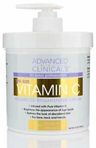 Advanced Brightening Vitamin C Body Moisturizer Cream 16oz