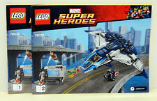 Lego 76032 Avengers Quinjet City Chase - die Bauanleitung,only the Instructions