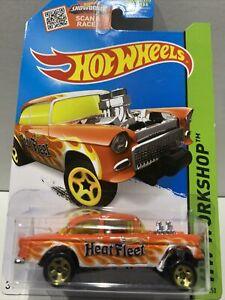 2015 Hot Wheels '55 Chevy Bel Air Gasser Heat Fleet 207/250 SEALED UNOPENED VHTF