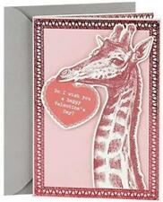 Hallmark Shoebox Funny Happy Valentine's Day Card, Giraffe