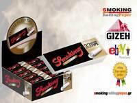Smoking Deluxe King Size Tips Filtri 33er In Carta Filtro Da 25 Blocchetti