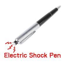 Funny Kugelschreiber Stromschlag Scherzartikel Elektro Schock shocking pen*