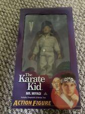 "MR. MIYAGI The Karate Kid (1984 Movie) 8"" Scale Clothed Action Figure Neca 2019"