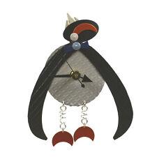 Mechanical Penguin Analog Wall Clock Battery Powered