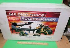 SOLDIER FORCE Chap Mei Shark War Military Rocket Hauler JC1001-MO army Go Joe