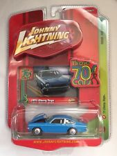 Johnny Lightning '71 1971 Chevy Vega Blue Those 70's Cars R1 Die-cast 1/64 Scale