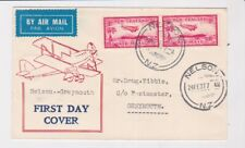 NEW ZEALAND STAMPS 1937 FIRST FLIGHT NELSON TO GREYMOUTH ILLUSTRATED