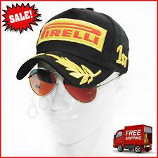 Embroidery Pirelli Racing Hat F1 Sports Moto GP Peaked Baseball Cap Cotton