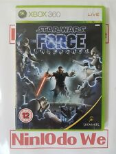 Star Wars: The Force Unleashed (Microsoft Xbox 360, 2008) - COMPLETE - FAST POST