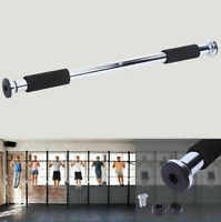 Adjustable Door Horizontal Pull Up Bar Training Home Workout Fitness Equipment