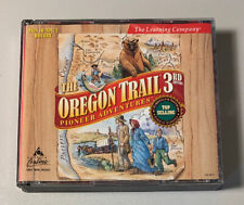 1997 Oregon Trail Pioneer Adventures 3rd Edition CD PC Game Nm 3 Disc Set