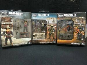 Mega Construx: Call of Duty Firebreak & Desert Tactics&WII Weapon Crate