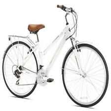 ❤ Cycling Northwoods Ladies Crosstown 21 Speed Hybrid Bicycle White Bicycles Nor