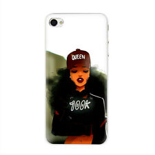 Queen Afro Melanin Poppin black girl Hard Case for iPhone XS Max XR X 8 7 6 Plus