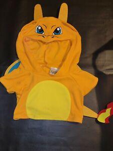 Build-A-Bear Pokemon ULTRA BALL Hoodie Brown Shirt Collector Clothing Rare BABW