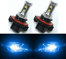 LED 50W 9008 H13 Blue 10000K Two Bulbs Head Light Replace DRL Lamp Off Road